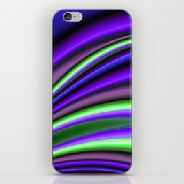 Abstract Fractal Colorways 01PL iPhone Skin