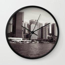 Circular Quay Sydney Wall Clock