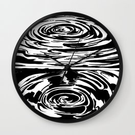 Into the Depths Wall Clock