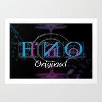 FnO Original  Art Print