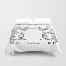 Battle Stance Duvet Cover