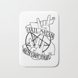 Hail Satan: West Coast Tour Bath Mat