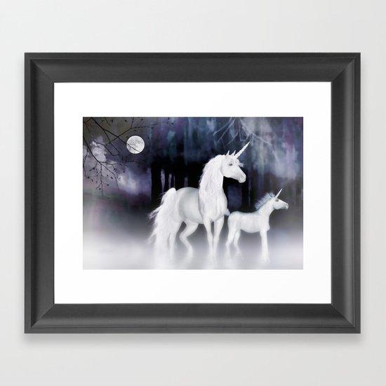 FANTASY - Unicorns Framed Art Print