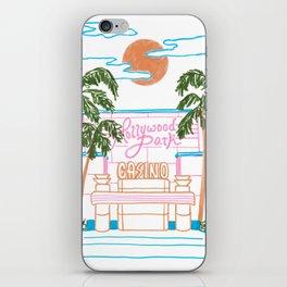 Hollywood Park Casino iPhone Skin
