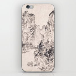 Landscape in the Style of Yan Wengui and Fan Kuan iPhone Skin