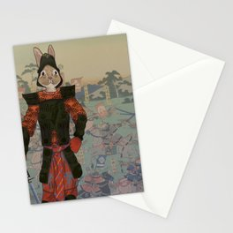 Japanese Hare Stationery Cards