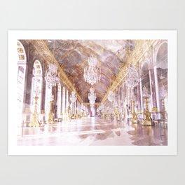 Palace Ballroom Art Print