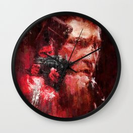 The Punisher (Frank Castle) played by Jon Bernthal Wall Art Painting, Movie Poster, Home Decor Wall Clock