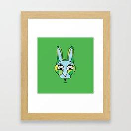 KURO Framed Art Print