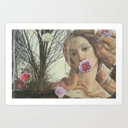Teen Venus Art Print