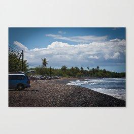 Maui beach scene Canvas Print