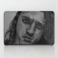 chuck iPad Cases featuring Chuck Schuldiner Drawing by Aline !