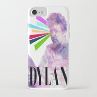 dylan iPhone & iPod Cases featuring Dylan by Coyvan