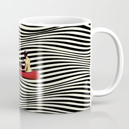Illusionary Boat Ride Coffee Mug