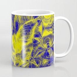 Electric butterfly and mandala Coffee Mug