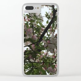 Lighted Branches Clear iPhone Case