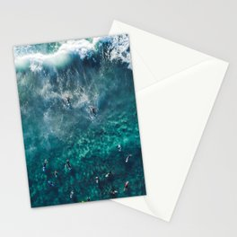 Surfing in the Ocean 2 Stationery Cards