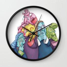 Thoughtful Lawyers Wall Clock