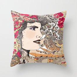 Vision on [Alternative colour version] Throw Pillow