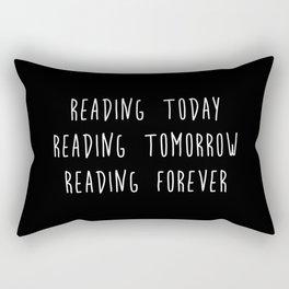 Reading (inverted) Rectangular Pillow