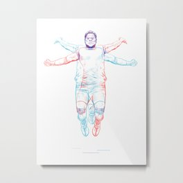 Jumper Metal Print