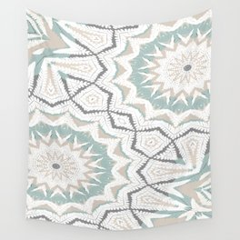 Planthouse Aztec Stone & Blue Wall Tapestry
