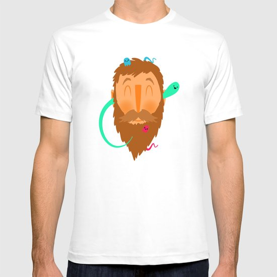 Ghost Beard T-shirt