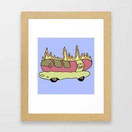 L7 Weenie Roaster Framed Art Print