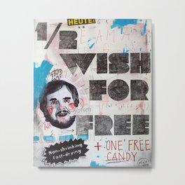 1/2 wish Metal Print