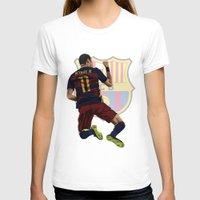 neymar T-shirts featuring Neymar  by siddick49