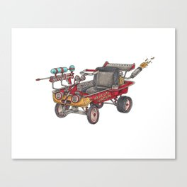 The Dragon Wagon Canvas Print