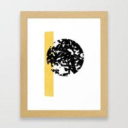 Abstract Moon #society6 #abstractart Framed Art Print