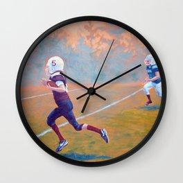 Touchdown Wall Clock