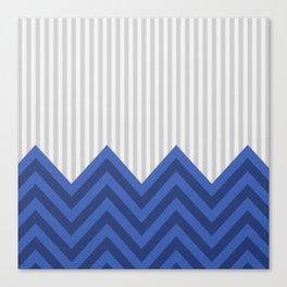 DeSign TRB blue Canvas Print