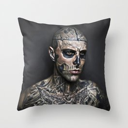 Zombieboy Throw Pillow
