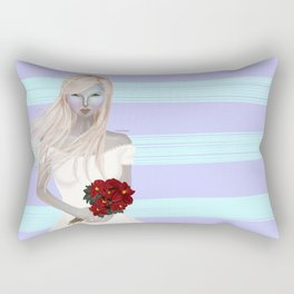 Snow Queen Rectangular Pillow