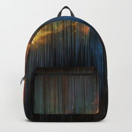 Planet Pixel Fall Down Backpack
