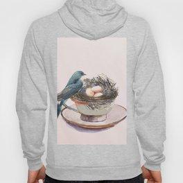 Bird nest in a teacup Hoody