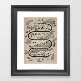 The River Dragon Framed Art Print