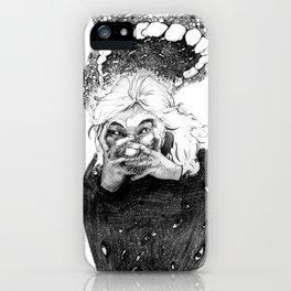 Speak of the Devil iPhone Case