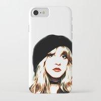 stevie nicks iPhone & iPod Cases featuring Stevie Nicks - Rhiannon - Pop Art by William Cuccio aka WCSmack
