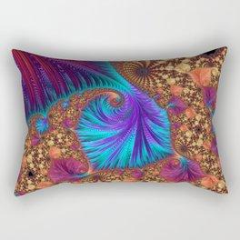 Harlequin Dragon Tail Rectangular Pillow