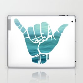 Ocean Bluse Hang Loose Laptop & iPad Skin