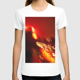 Brooklyn Lights, Fireworks, BedStuy, 4th of July T-shirt