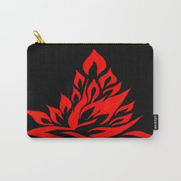 fire meditation pose Carry-All Pouch