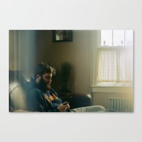 jake Canvas Prints featuring Jake by Lewis Galli
