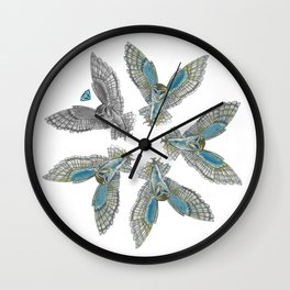 Diamond in the Rough Wall Clock