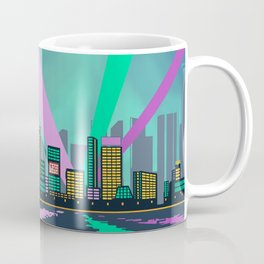 80s nightview Coffee Mug