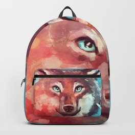 Wolf - Stare - Wanderlust Backpack