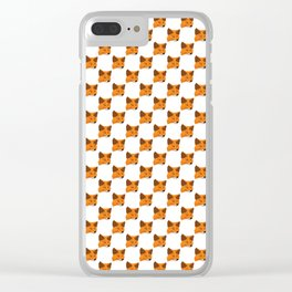 Metamask - Crypto Fashion Art (Small) Clear iPhone Case